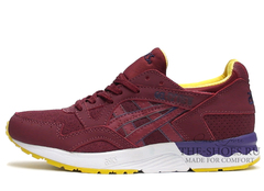 Кроссовки Мужские Asics GEL LYTE V Cherry Violet White Yellow