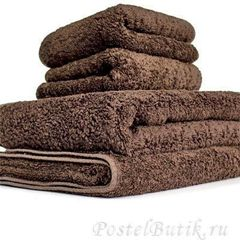 Полотенце 55х100 Abyss & Habidecor Super Pile 772 dark brown