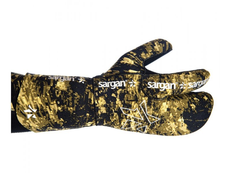 Рукавицы для подводной охоты sargan мечта пианиста камо rd2.0  7 мм