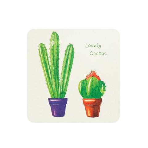 Открытка Two Cactus