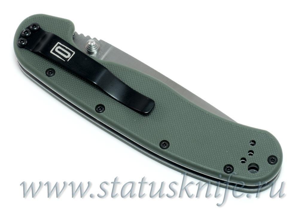Нож Ontario Rat 1 D2 8867OD зеленый