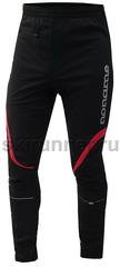 Подростковые Лыжные брюки самосбросы Noname Softshell Pant black-red унисекс