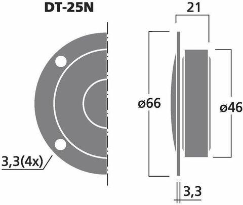 Monacor DT-25N