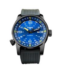 Швейцарские тактические часы Traser P68 Pathfinder Automatic Blue 107721 (каучук)