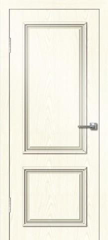 Дверь Дверная Линия Синдика, цвет ясень белый, глухая