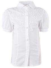 0270 блузка детская, белая