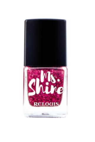 RELOUIS Лак для ногтей  Ms.Shine тон 05 SPARKLY RUBY