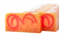Натуральное мыло ручной работы Золотой песок (апельсин), 100g ТМ Savonry