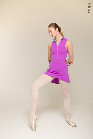 The Skirt Stretches (new shade of violet)