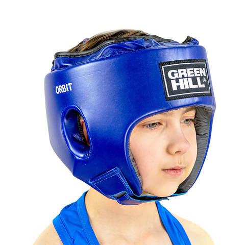 Шлем для кикбоксинга ORBIT Green Hill