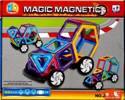 Конструктор магнитный Мagic Мagnetic 32 дет JH 6886