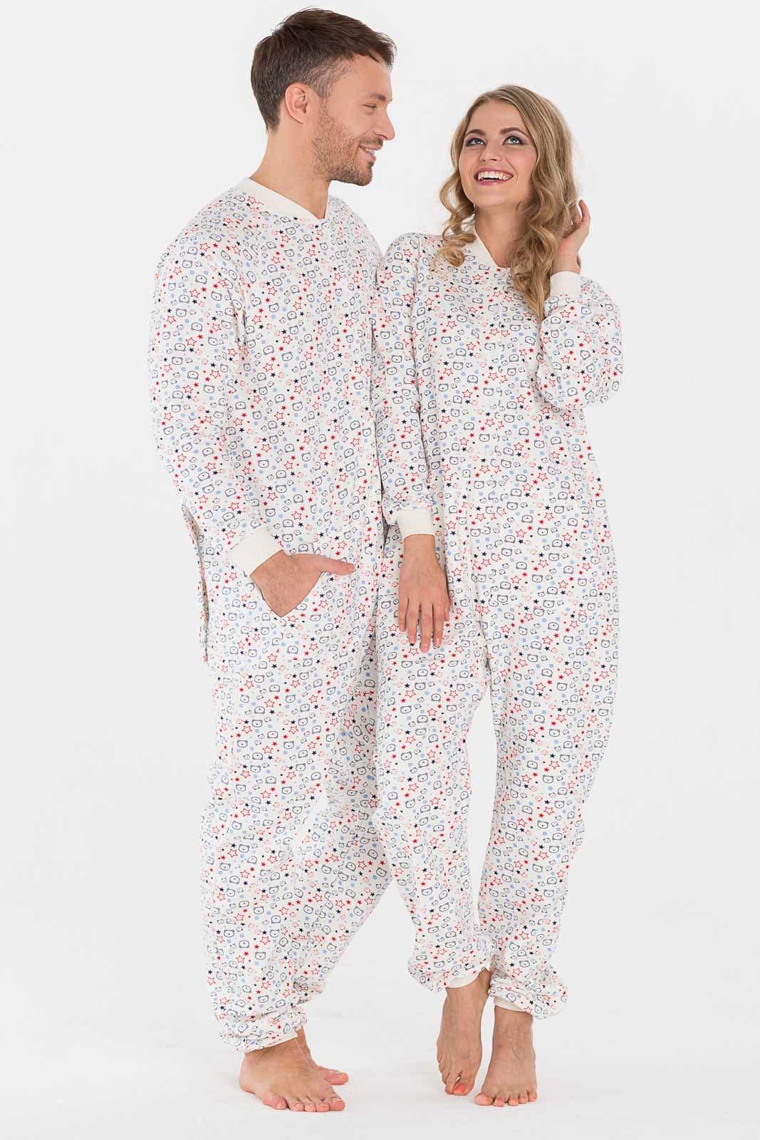 Пижама с открытой попой