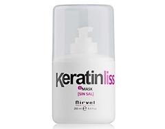 NIRVEL кератиновая маска для мощного восстановления и увлажнения волос NIRVEL keratin-liss mask №6 250 мл