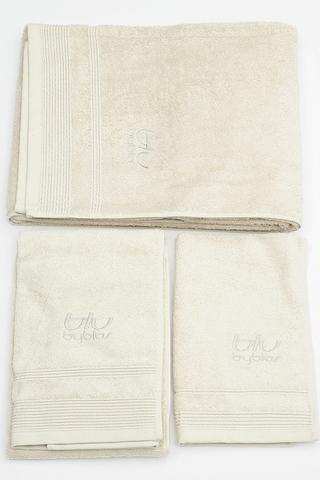 Набор полотенец 2 шт Byblos Sissi серый