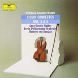 Anne-Sophie Mutter, Berlin Philharmonic, Herbert von Karajan / Mozart: Violin Concertos No. 3 & No. 5 (LP)