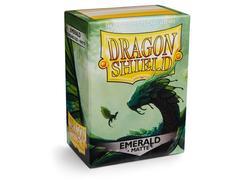 Dragon Shield - Изумрудные матовые протекторы 100 штук
