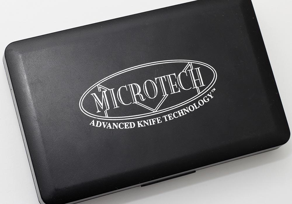 Нож Microtech old-school Socom Silver