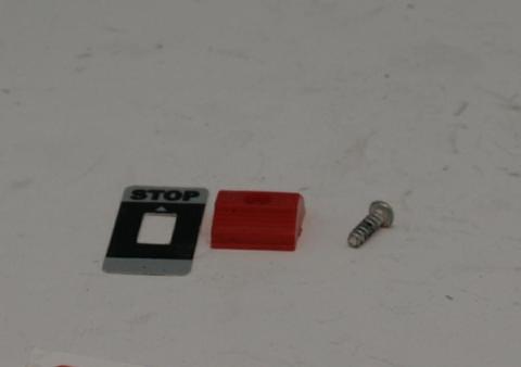 Клавиша DDE GB25RD/GB32RD/GB420RD выключателя