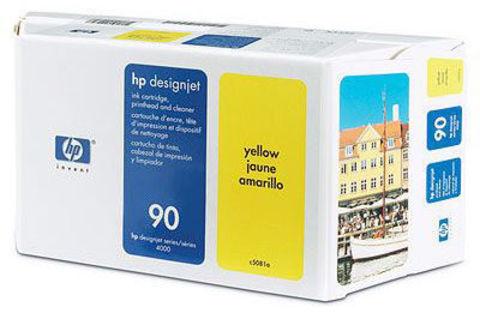 печатающая головка HP 90 Yellow