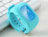 Детские GPS часы Smart Baby Watch Q50 (Цвет: Голубой)