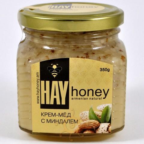 Крем-мёд с миндалем Hay Hоney, 350г