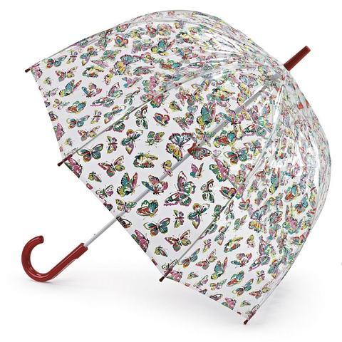Зонт женский трость Cath Kidston Fulton Butterflies (Бабочки)