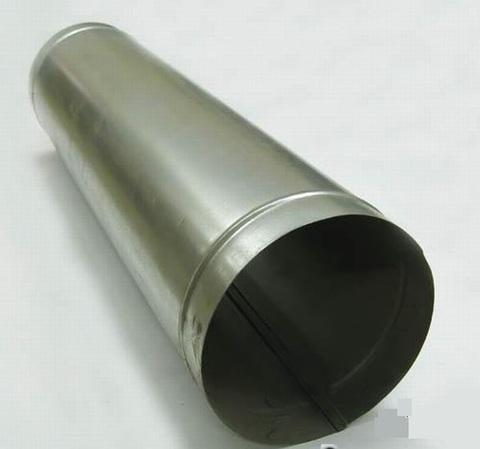 Воздуховод прямошовный D 125 оцинкованная сталь