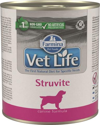 Беззерновые консервы Farmina Vet Life Natural Diet Dog Struvite
