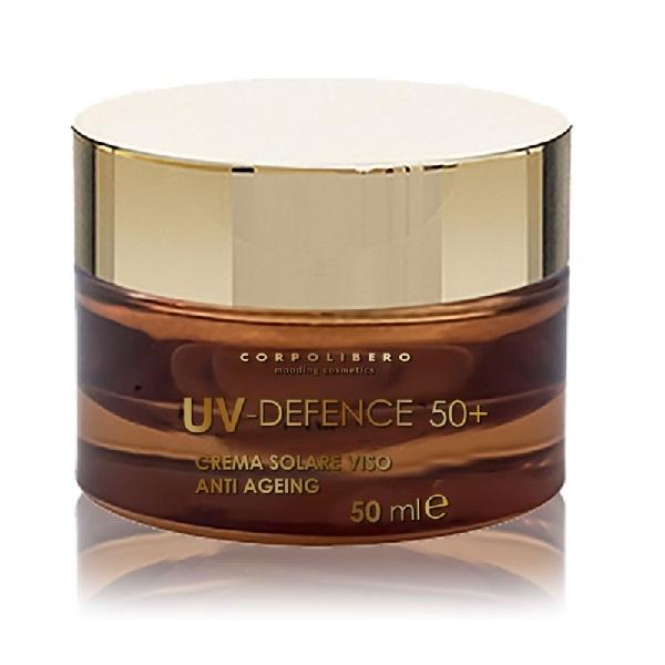 Крем для лица солнцезащитный антивозрастной SPF50+ Corpolibero UV-Defence Anti-Ageing Sun Cream 50мл
