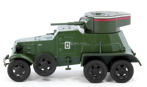 BA-6 Military Armored Car USSR 1:43 DeAgostini Service Vehicle #67