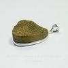 Подвеска Кварц в рамке (цвет - античное серебро) 33,8х22,8х17 мм №15 (б-13-18-05 №15а)