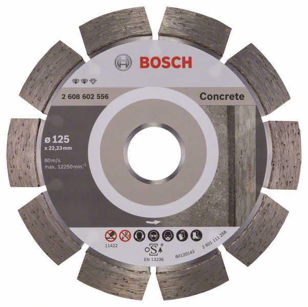 Алмазный диск Expert for Concrete 125-22,23 Bosch 2608602556