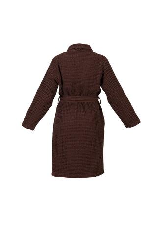 Элитный халат вафельный Pousada 772 Dark Brown от Abyss & Habidecor