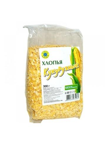 Хлопья кукурузные, 300 гр. (Компас Здоровья)