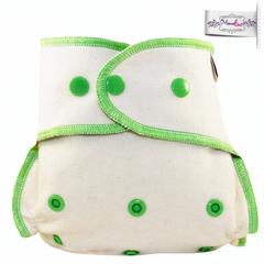Подгузник из  хлопка для новорожденных с вкладышем Mamalino Экзотика (3 кг-8 кг)