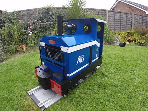 Garden Rail Локомотив Druid - РН на колеи 12,7 см и 17,8 см, электрический