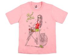 937-9 футболка детская, розовая