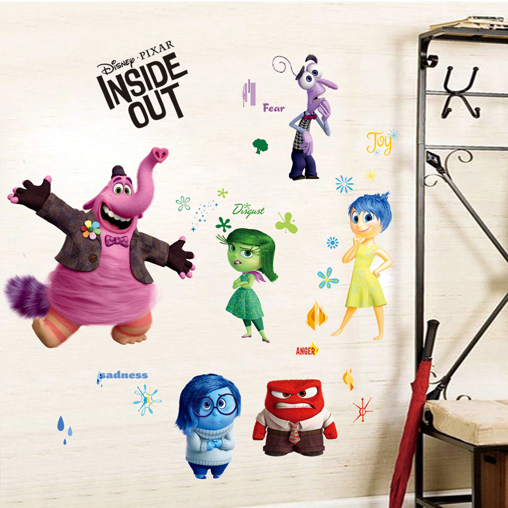 Wall Sticker Wallpaper 3D Art — Inside Out