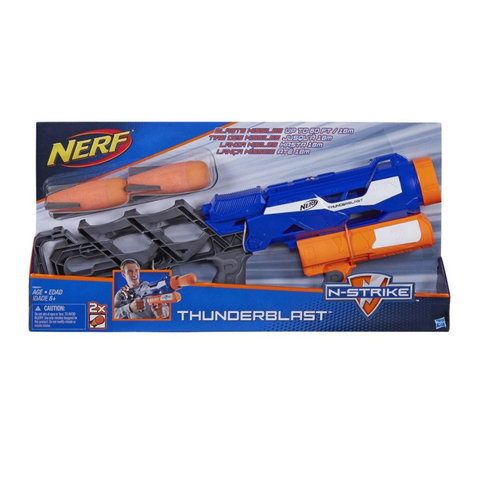 Hasbro: Nerf Бластер Элит Ракетница A9604 — Nerf Elite N Strike Thunderblast  — Нерф Нёрф Хасбро