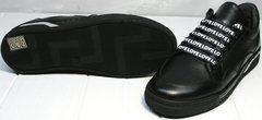 Модные черные кроссовки женские Rifelini by Rovigo 121-1 All Black