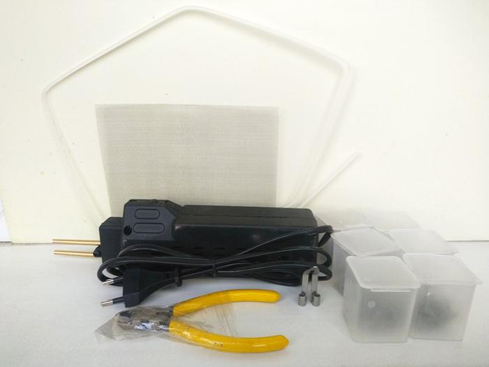 HOT STEPLER для ремонта пластика, со скобами