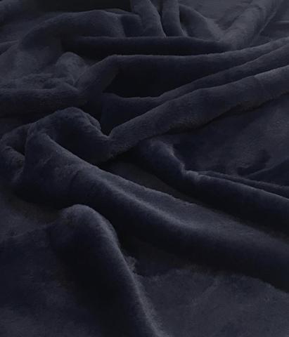 Экомех (100% полиэстер) Темно-синий