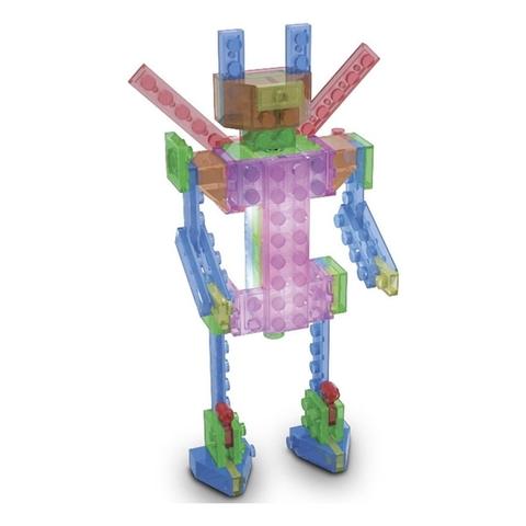 Конструктор Laser Pegs «Роботы» 4 в 1 (MPS200B)