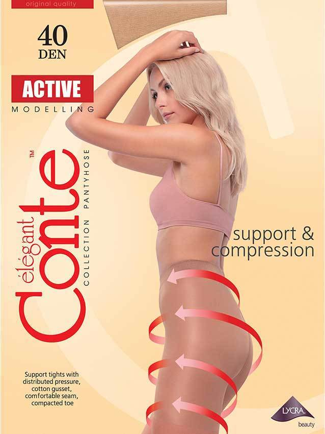 Женские колготки Active 40 XL Conte