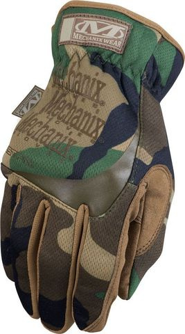 ПЕРЧАТКИ MECHANIX FASTFIT WOODLAND CAMO MFF-77