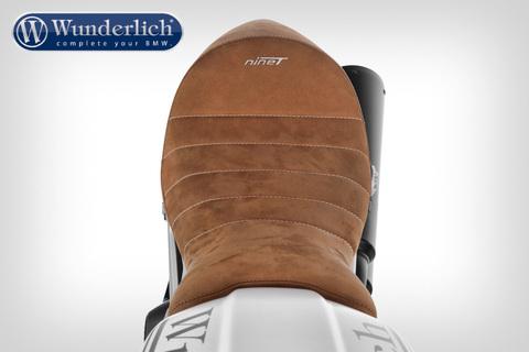 Цельное сиденье из натуральной кожи BMW RnineT - коричневый