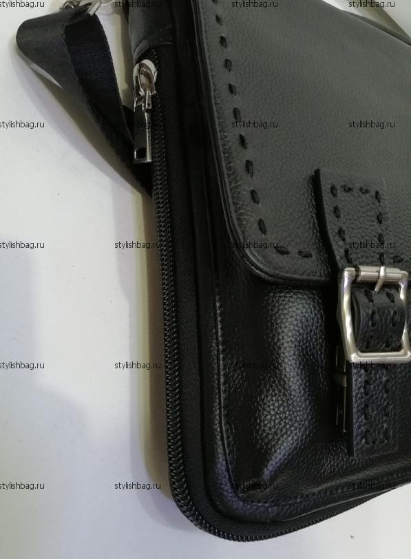 Мужская сумка портфель из кожи Giorgio Armani