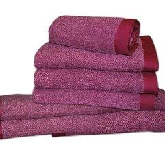 Полотенце 100х150 Caleffi Melange розовое