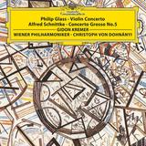 Gidon Kremer, Vienna Philharmonic, Christoph von Dohnanyi / Philip Glass: Violin Concerto, Alfred Schnittke: Concerto Grosso No. 5 (LP)