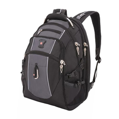 "Рюкзак Swissgear 15"",чёрный/серый, 34x23x48 см, 38 л"